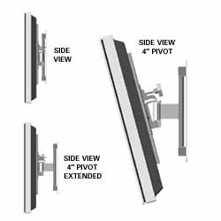 Chief Pivot Wall Mount